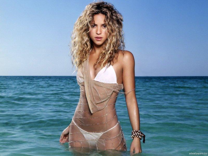 shakira hottest seminude pictures 1