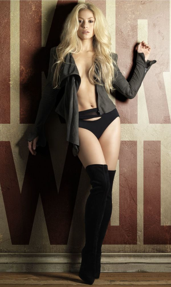 shakira hottest seminude pictures