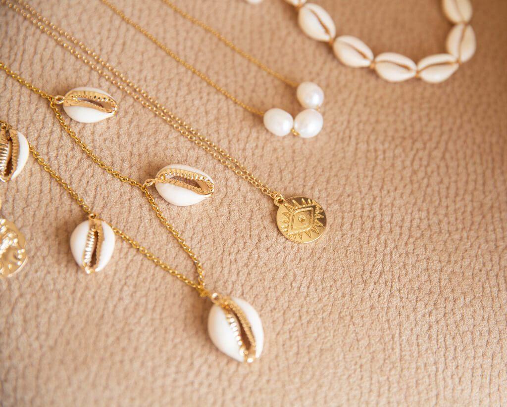 shell necklace design ideas