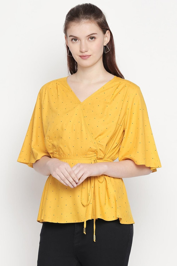 Sleeve length types of tops for ladies