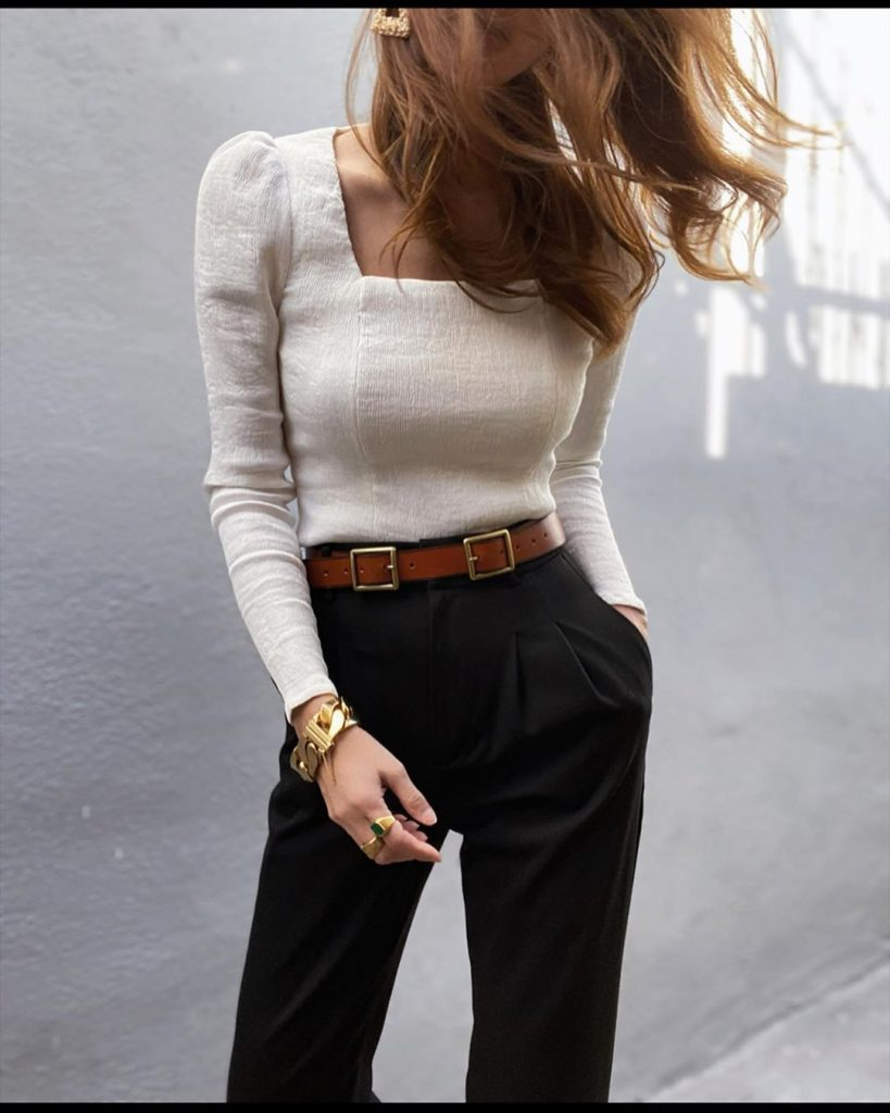 necklines types of tops for ladies