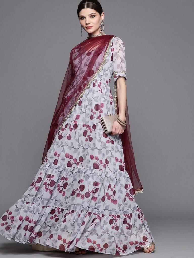 Minimal Anarkali Outfits Under 10000